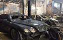 Hình ảnh loạt ô tô ở garage Thần Châu vừa bị cháy rụi