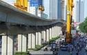 Cận cảnh tuyến đường sắt trên cao Cát Linh - Hà Đông