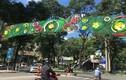 Kiểu trang trí đường phố phản cảm ''đốt tiền'' ở Việt Nam