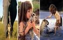 Bất ngờ cuộc sống thực sự của cô bé người rừng Tippi