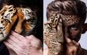 Kỳ ảo kết hợp khuôn mặt giữa con người và động vật