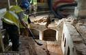 Cận cảnh khu vực khai quật nơi Nữ hoàng Elizabeth I chào đời