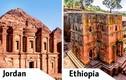 """Những công trình kiến trúc """"sinh đôi"""" nổi tiếng TG"""