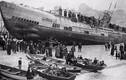 Ảnh hiếm tàu ngầm U-118 của Đức tại bờ biển Hastings 1919