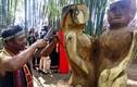 Tây Nguyên: Xem nghệ nhân các dân tộc thi tạc tượng gỗ
