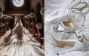Chiếc váy cưới hàng triệu USD gây choáng của người thừa kế Swarovski