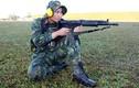 Cận cảnh tư thế bắn súng trường của bộ đội Việt Nam