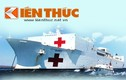 Infographic: Tàu bệnh viện vĩ đại nhất thế giới thăm VN