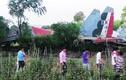 Kinh hoàng hiện trường tiêm kích Su-30MKI gặp nạn