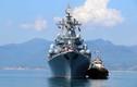 Mạnh khủng khiếp tuần dương hạm Nga đang thăm Cam Ranh