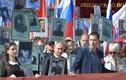 """Hình ảnh """"Trung đoàn Bất tử"""" diễu hành khắp nước Nga"""