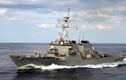 Tàu chiến Mỹ lại tiến sát Đá Vành Khăn ở Biển Đông