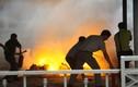 Hoảng loạn cảnh dàn xe máy nổ, bốc cháy ở ĐHQG Hà Nội