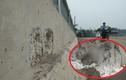 """Chùm ảnh cận cảnh """"cầu bê tông cốt xốp"""" ở Hà Nội"""