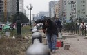 Ảnh cận cảnh các hạng mục nhà chờ xe buýt nhanh Hà Nội