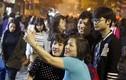 Hình ảnh ấn tượng thời khắc giao thừa ở Hà Nội