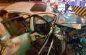 Ô tô đâm vào trạm thu phí Hà Nội - Hải Phòng, 2 người thương nặng