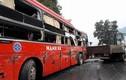 Hiện trường vụ tai nạn giao thông khiến nhiều người nhập viện ở Tuyên Quang