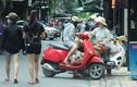 Ảnh: Nhức nhối xe bán trái cây lấn chiếm lòng đường ở HN