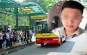 Tạm đình chỉ phụ xe bus gạ tình chuộc điện thoại ở Hà Nội
