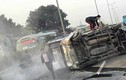 Hiện trường ô tô đâm nhau khiến cao tốc Pháp Vân - Cầu Giẽ tê liệt
