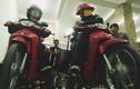 Mục kích xe máy chữa cháy của cảnh sát PCCC Hà Nội