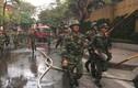 Hàng chục bộ đội cứu hỏa vụ cháy quán cafe ở Hà Nội