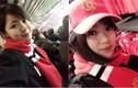 Nữ du học sinh cười tỏa nắng ở Old Trafford gây sốt