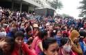 Hơn 5000 công nhân ngừng việc phản đối thưởng Tết bèo