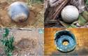Ảnh cận cảnh 3 vật thể lạ rơi ở Tuyên Quang, Yên Bái