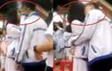 Hôn nhau dưới sân trường, cặp đôi học sinh gặp họa