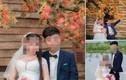 Ảnh cưới cô dâu sinh năm 2001 và chú rể 2000 gây choáng