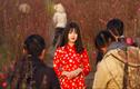 Ảnh đẹp: Người Hà Nội bên hoa đào Tết