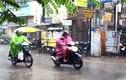 Sài Gòn mưa như trút nước từ sáng sớm đầu tuần