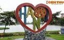 Ảnh: Điêu khắc gốm độc lạ bên hồ Trúc Bạch vừa đạt giải quốc tế