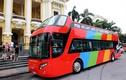 Ảnh: Xe buýt 2 tầng ở Hà Nội có gì độc?