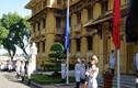 Ảnh: Cận cảnh Lễ thượng cờ ASEAN năm 2017 tại Hà Nội