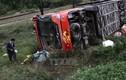 Hà Nam: Lật xe khách trên Quốc lộ 21B, 7 người bị thương
