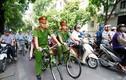 Công an Hà Nội ngày đầu cưỡi xe đạp đi tuần tra