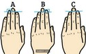 Dự đoán tính cách con người qua độ dài ngón áp út
