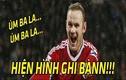 """Ảnh chế bóng đá: Rooney hiện hình để khỏi bị """"đá đít"""""""