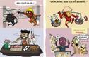 Sẽ ra sao khi các siêu anh hùng Marvel đến Việt Nam?