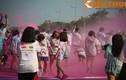 Giới trẻ Hà thành quẩy tưng bừng tại Đường chạy sắc màu