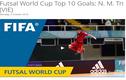 Tuyển thủ Futsal Việt Nam được FIFA vinh danh
