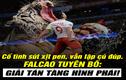 Ảnh chế bóng đá: Falcao tuyên bố giã từ phái tàng hình