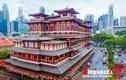 Choáng ngợp ngôi chùa triệu đô lộng lẫy giữa quốc đảo Singapore