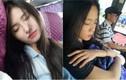 Dân mạng mê mẩn với dàn gái xinh ngủ gật trên xe