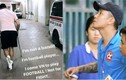"""Sau """"phốt"""" hành hung, Văn Lâm - Sỹ Mạnh bị xử lý thế nào?"""