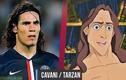 Top 10 sao bóng đá giống hệt nhân vật hoạt hình