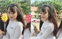 Nữ sinh Đắk Lắk nổi tiếng vì mặc áo dài quá đẹp